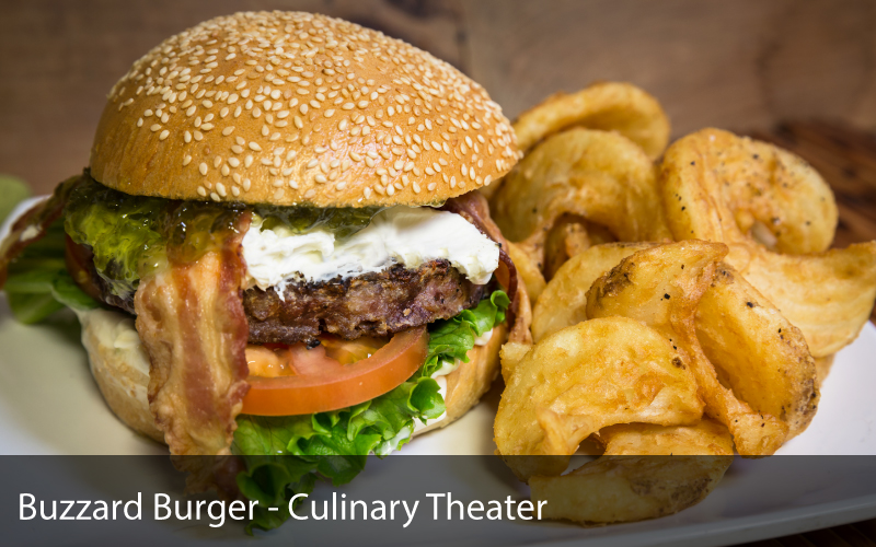 Buzzard Burger - Culinary Theater