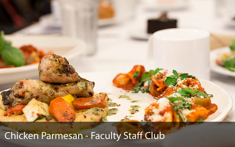 Chicken Parmesan - Faculty Staff Club
