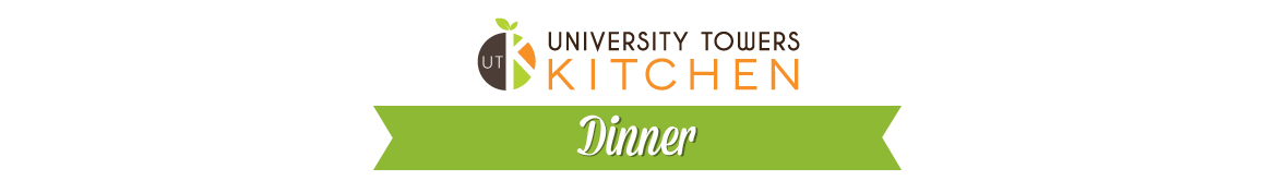 University Towers Kitchen Dinner